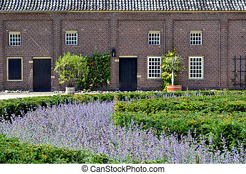 Historic coach house - Coach house of castle Slangenburg in...