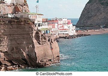 italy, ischia, san angelo - italy, campania, island, ischia,...