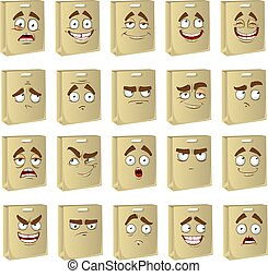 smilys clean paper bags for food - smileys clean paper bags...