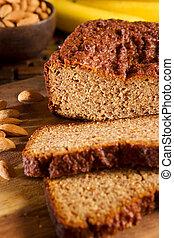 Gluten Free Banana Bread - Gluten free banana bread made of...