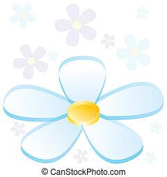 3D Flower Chart - An image of a 3d business flower chart.
