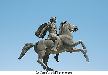 Statue of Alexander the Great at Th