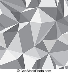 Diamond seamless pattern - abstract polygon texture -...