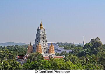 pagoda Thai temple thailand