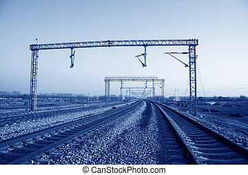 railway transportation artery in north China