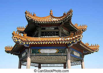 Eaves illustrazioni e eavesillustrazioni e for Casa tradizionale cinese