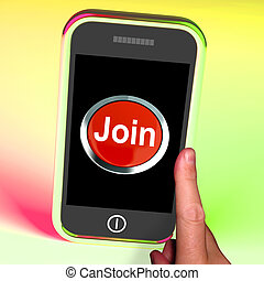 Join Button On Mobile Shows Subscription And Registration -...