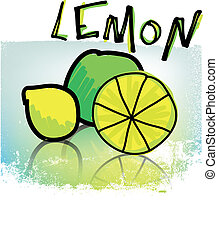 lemons illustration