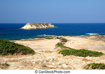 Coast of Akamas peninsula, Cyprus