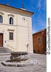 Historical orphanage. Narni. Umbria. Italy.