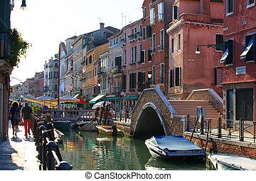 Venice - View of the Venice lagoon - Italy