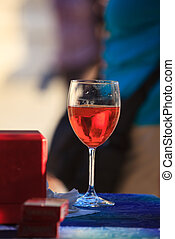 Spritz - Photo of Glass with Spritz, Italian drink