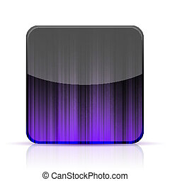 Vector abstract app icon on white background. Eps10