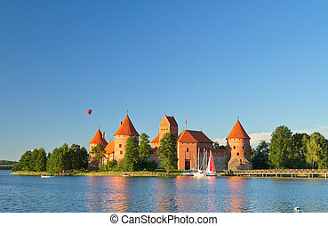 Trakai Castle, Lithuania