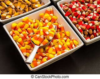 Halloween Candy Corn - Classic Halloween treat, candy corn...