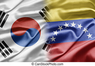 South Korea and Venezuela