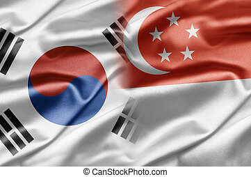 South Korea and Singapore