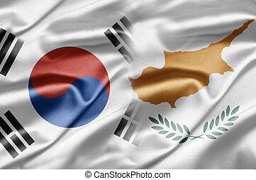 South Korea and Cyprus