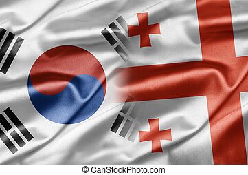 South Korea and Georgia