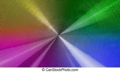 abstract background - rotating abstract background in four...