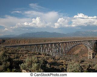 Rio Grande Gorge Bridge 2 - The Rio Grande Gorge Bridge is...
