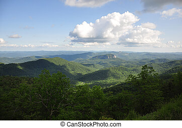 Appalachian Mountain View - Scenic view of Looking Glass...