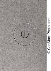 Power Button - on off switch of an Apple Macbook Pro