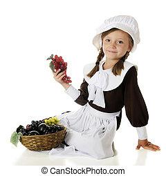 Pilgrim Girl's Fruit Basket