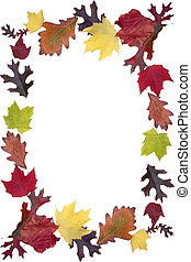 Autumn Leaf Frame