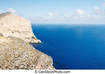 The coast of Mallorca Balearic Islands