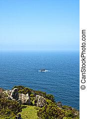 acores; north coast of flores island - north coast of flores...