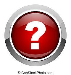 pregunta, marca, icono