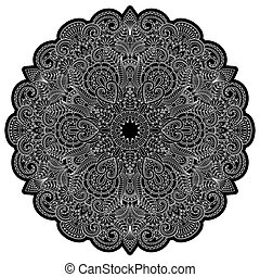 Vector ornaments. - Vector illustration with floral ornament...