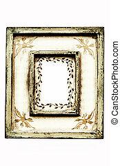Frame - Ornamental vintage wooden frame