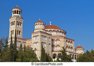 Orthodox church in Greece.