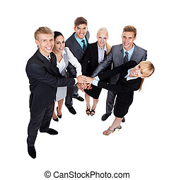 groupe,  Business, gens