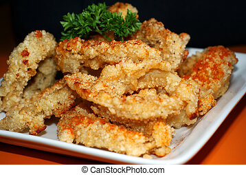 Taiwanese Fried Calamari Rings - Taiwanese fried calamari...