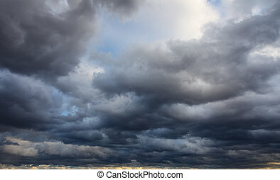 Natural background: stormy sky - Natural background: dark...