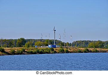Wind-driven generators - Kind on wind-driven generators from...
