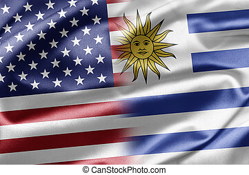 USA and Uruguay - US and the nations of the world. A series...