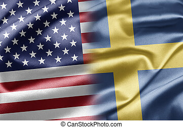 USA and Sweden - US and the nations of the world. A series...