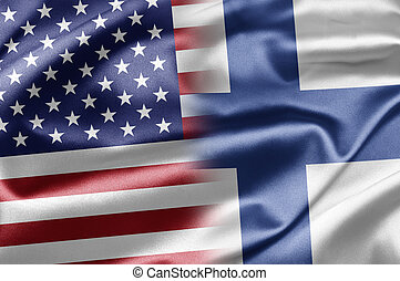 USA and Finland - US and the nations of the world. A series...