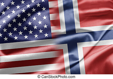 USA and Norway - US and the nations of the world. A series...