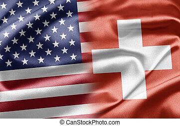 USA and Switzerland