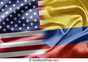 USA and Colombia - US and the nations of the world. A series...