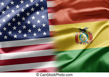 USA and Bolivia - US and the nations of the world. A series...