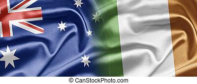 Australia and Ireland