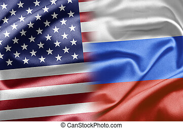 USA and Russia - US and the nations of the world. A series...
