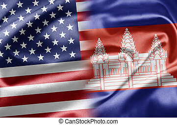 USA and Cambodia - US and the nations of the world. A series...