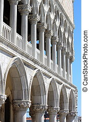 Doge Palace in Venice, Italy